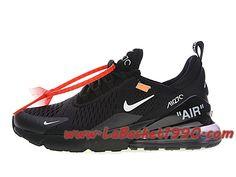 Off white x Nike Air Max 270 Chaussures Officiel 2018 Pas Cher Pour Homme Noir Blanc AH8050-011-Achetez en ligne les articles signés Nike.