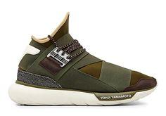 """adidas Y-3 Qasa High """"Khaki"""" - SneakerNews.com"""