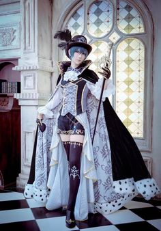 Black Butler: Ciel Phantomhive cosplayed by 一之濑光/一ノ瀬ヒカル/ichinosehikaru, japanese coser ~.~