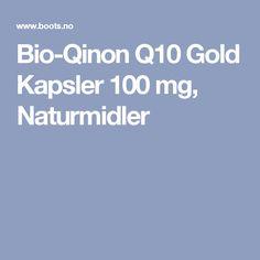 Bio-Qinon Q10 Gold Kapsler 100 mg, Naturmidler