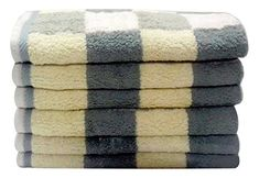 Our luxurious towel collection made with high quality 100% cotton from Pakistan. It is incredibly soft, and it possesses and natural sheen that cannot be matched by other cottons without a lot of processing. These towels are also highly absorbent with durably made to have long lasting effects.... more details available at https://perfect-gifts.bestselleroutlets.com/gifts-for-holidays/home-kitchen/product-review-for-new-brand-6-piece-livingston-home-luxurious-block-hand-towel-