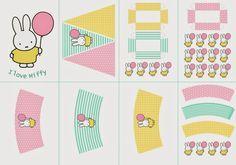 I love Kawaii: Miffy Free Printable Party Kit