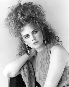 1980s hair was very big and just straight nonsense. People copied the outlandish hair styles of Madonna and other pop stars.