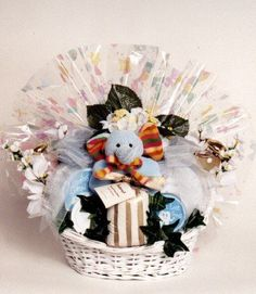 Mommy and Baby Deluxe Baby and Spa Gift Basket | Baby Shower Gift Basket Idea