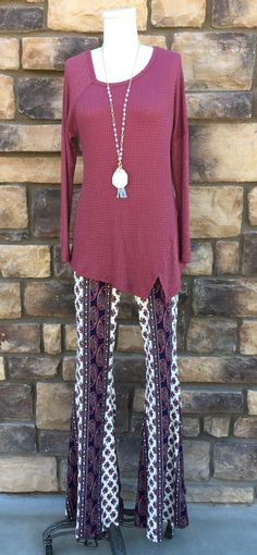 Paisley Perfect Palazzo Pants from privityboutique
