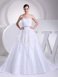 Madira - Бальное платье Атласная свадебном платье с Аппликации - RUB 15295,88руб.