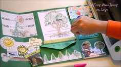 Ever wondered what a lapbook is? In this video, Cyndi explains to you what a lapbook is and how to create your own! Plant Science, Science And Nature, Learning Cards, Kids Learning, Science Activities, Activities For Kids, Science Clipart, Math Talk, Elementary Spanish
