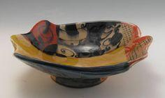 Quilt Swatch Bowl by Adero Willard presented by Ferrin Gallery