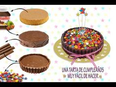 Un video con muy buenos trucos y consejos de tartas de cumpleaños para niños!!