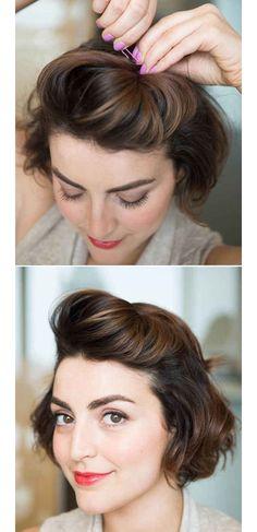 #coiffure #cheveux - style la coque rock https://fr.pinterest.com/disavoie11/