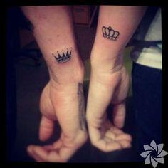Bu dövmeler sevgililer için