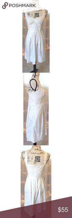 NWOT Donna Ricco New York White Dress NWOT Donna Ricco New York White Dress, the perfect 'little white dress' Purchased from Nordstrom, never worn. Donna Ricco Dresses