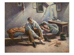Morning Interior by Maximillian Luce. Premium poster from Art.com.