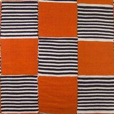 Hot Still Scape  Ethnic, Geometric, Prints, Stripe, Cotton  Cotton Blend, Linen, Fabric by Jennifer Shorto