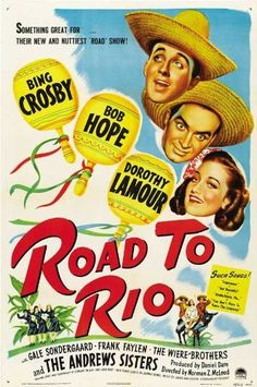Road to Rio Poster Movie 11x17 Bing Crosby Bob Hope Dorothy Lamour Gale Sondergaard by Pop Culture Graphics, http://www.amazon.com/dp/B002S6W4EY/ref=cm_sw_r_pi_dp_UWeDrb1XPNWAY