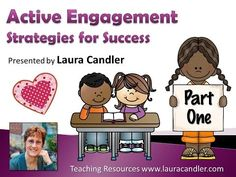 Active Engagement and Cooperative Learning Strategies Webinars - lots of strategies