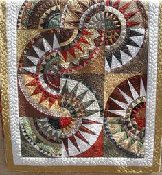 NY Beauty - adore the color choices. Quilted by Jessica's Quilting Studio