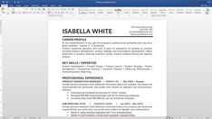Resume Template With A Cover Letter And References Template Get A