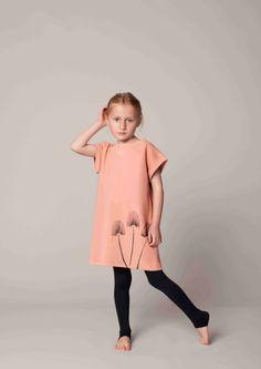 Easy to wear fleece dress from Gro kidswear spring 2013