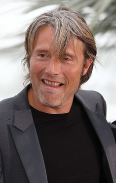 Mads Mikkelsen in Celebs at the 'Hunt' Photocall in Cannes