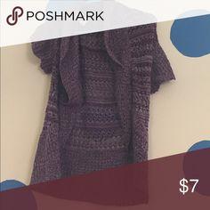Mudd Sweater Purple Mudd Crochet Sweater Sweaters Cardigans