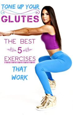 HOW TO GET AN AWESOME GLUTES {BUTT}: THE BEST 5 EXERCISES TO TONE UP YOUR GLUTES http://www.palestraperfect.it