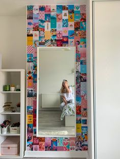 new tezza style photo wall collage in my bedroom - visit the link for all the inspo and pics i used ✌️ Cute Bedroom Decor, Room Ideas Bedroom, Teen Room Decor, Easy Diy Room Decor, Teen Bedroom, Bedroom Inspo, Home Decor, Murs Roses, Indie Room