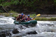 Mild rapid on the Tenorio River Guanacaste, Costa Rica #rafting #fun #cool