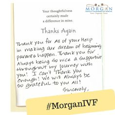 We absolutely LOVE to receive notes like this one from our patients! Thank you for allowing us to be part of your success story! This really made our day!!  Share your success story and pics to: Info@AllenMorganMD.com.