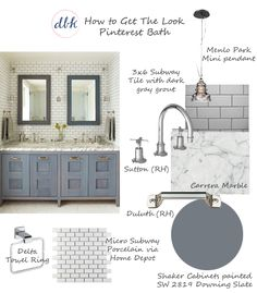 How To Get The Look: Bathroom Edition | Designs By Katy