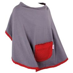 This soft and stretchy poncho provides plenty of privacy during feeding times for you and Baby. Fleece Crafts, Fleece Projects, Nursing Poncho, Small Sewing Projects, Sewing Ideas, Breastfeeding Cover, Poncho Shawl, Baby Presents, Baby Cover
