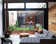 I've seen this courtyard featured on many blogs, and I never tire of seeing it. What a great space.