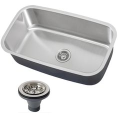 Phoenix 31.5-inch Stainless Steel 18 Gauge Undermount Single Bowl Kitchen Sink - Overstock™ Shopping - Great Deals on Phoenix Kitchen Sinks