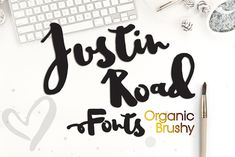 Justin Road is a free font with natural brushy style. This beautiful bouncy font is ready to make your designs stand out from the crowd. Available in OpenType font format and can be used for personal or commercial projects. Justin Road Font suitable for any design needs, modern design, branding, stationery design, project life, modern …