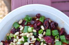 Dip It   Curried Cream Cheese Dip with Dried Cranberries, Pine Nuts, and Green Onion