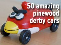 50 incredible Pinewood Derby cars of 2012 -- Boys' Life magazine