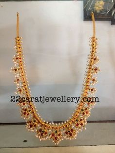 Latest Collection of best Indian Jewellery Designs. India Jewelry, Pearl Jewelry, Wedding Jewelry, Jewelery, Indian Jewellery Design, Jewelry Design, Gutta Pusalu, Indian Necklace, Jewelry Model