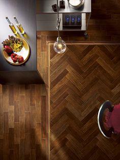 [ Younhyun Tile / 윤현상재 타일 ] Wood Style Tile : Taiga / Size (cm) : 86X350