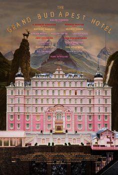 """""""The Grand Budapest Hotel"""", une comédie de Wess Anderson, avec Ralph Fiennes, Adrien Brody, Mathieu Amalric... (02/2014)"""