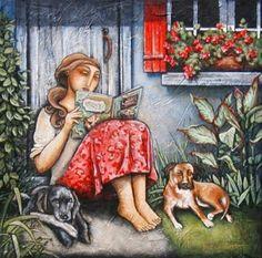 Mi tiempo, mi lectura (ilustración de Nathalie Boissonnault)