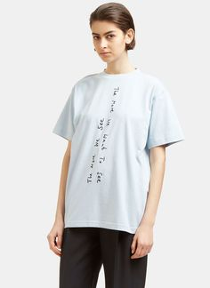 Women's T-Shirts - Clothing | Find more at LN-CC - The More We See Crew Neck T-Shirt