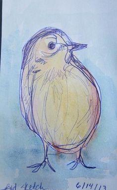 Bird Sketch - Debbie Smith