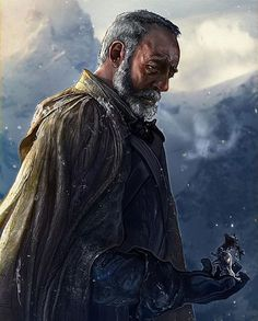 The Broken Man by @ertacaltinoz  So tonight we find out if the Broken Man is Davos if he finds out about Shireen or hopefully it's the return of one of our most missed characters #got #gameofthrones #gameofthronesfamily #asoiaf #asoiaffamily #asongoficeandfire #gameofthronesseason6 #grrm #gotart #gameofthronesart #asongoficeandfireart #davosseaworth #liamcunningham #onionknight