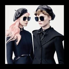 Ruth Bell and Fernanda Ly exemplify the modern ideal of femininity expressed in #MariaGraziaChiuri's Autumn-Winter 2017 collection. With their signature color story the #DiorStellaire sunglasses offer a confident complement to such strong liberated women everywhere. #DiorAW17  via DIOR OFFICIAL INSTAGRAM - Celebrity  Fashion  Haute Couture  Advertising  Culture  Beauty  Editorial Photography  Magazine Covers  Supermodels  Runway Models