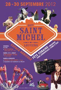 Serez-vous là ? Premier rendez-vous, première nouveauté de cette 207è Saint Michel à Louviers : le feu d'artifice au Jardin Public à 21h30.