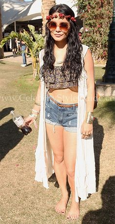 Vanessa Hudgens was spotted wearing the Quay Eyeware style 1521 in Gold while attending the 2012 Coachella Music Festival in Indio on Sunday, April 15th.