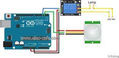 PIR Motion Sensor Switch (Arduino)_Elec-Cafe