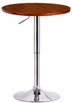 Amazon.com - Boraam 99632 Runda Adjustable Pub Table - Bar Tables