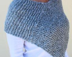 #knit #poncho #shawl