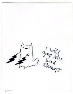 zap the bad things :) | via Tumblr